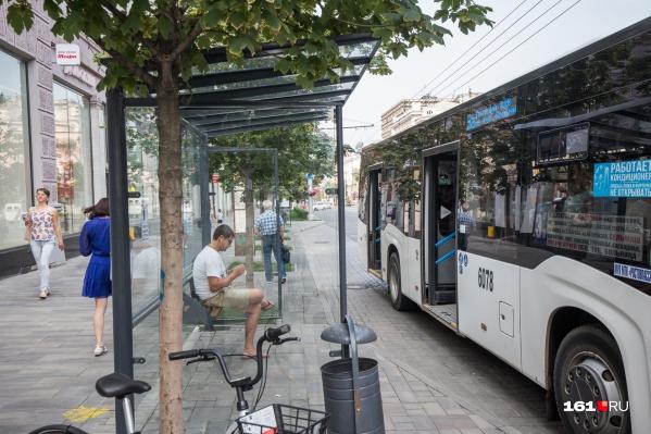 Покрытие на остановочных карманах обновят на деньги из городского бюджета