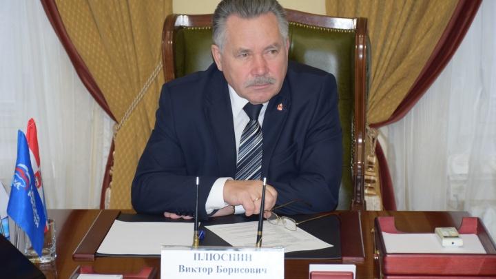 ФСБ провела обыск в Заксобрании Прикамья у депутата Виктора Плюснина