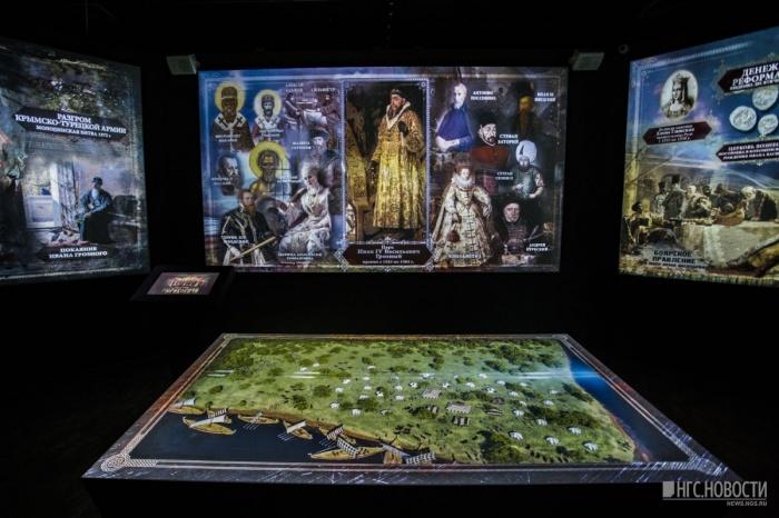 Сейчас в музее работают четыре экспозиции