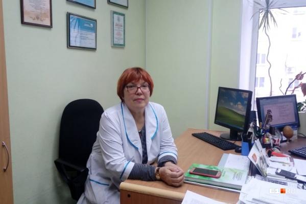 Главный детский инфекционист Екатеринбурга Татьяна Калугина