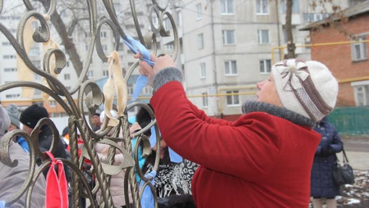 В башкирской столице открыли Сквер желаний