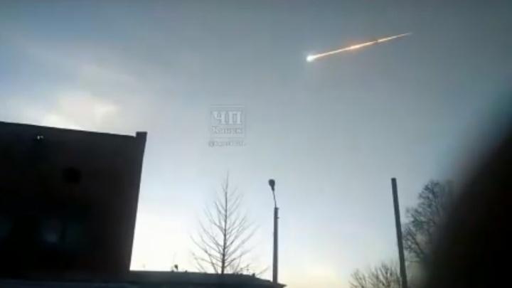 Названа мощность взрыва болида в небе над Красноярском