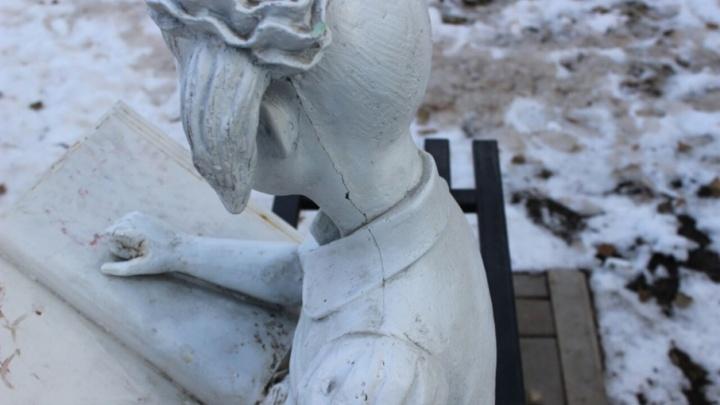 Уфимский парк Якутова атаковали вандалы