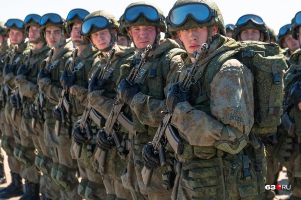 Военных отправят на учения