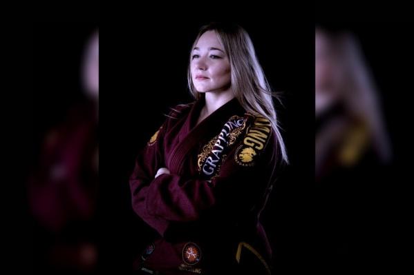 Яна получила бронзовую медаль в чемпионате мира по грэпплингу