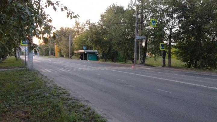 На проспекте Машиностроителей в Кургане ВАЗ сбил пенсионерку