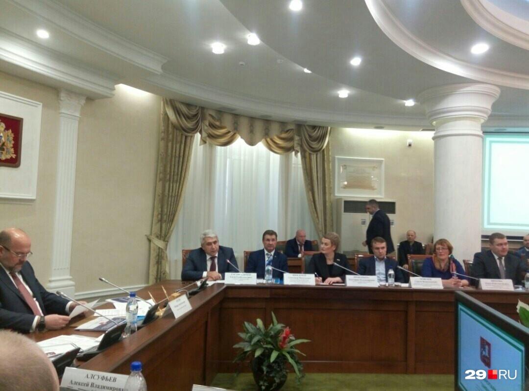 Участники заседания инвестиционной комиссии