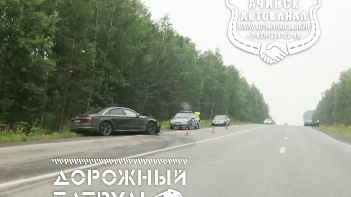 Между Ачинском и Назарово за два дня произошло два похожих ДТП