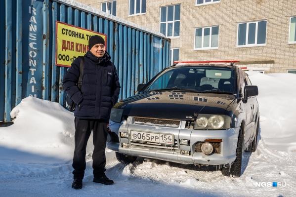 Денис Абикенов и его Mitsubishi RVR