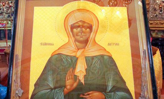 В нижегородский храм привезут икону почитаемой святой Матроны Московской с частицей мощей