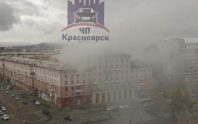 Из-за пожара в шахте лифта эвакуировали полсотни жильцов дома на Красрабе