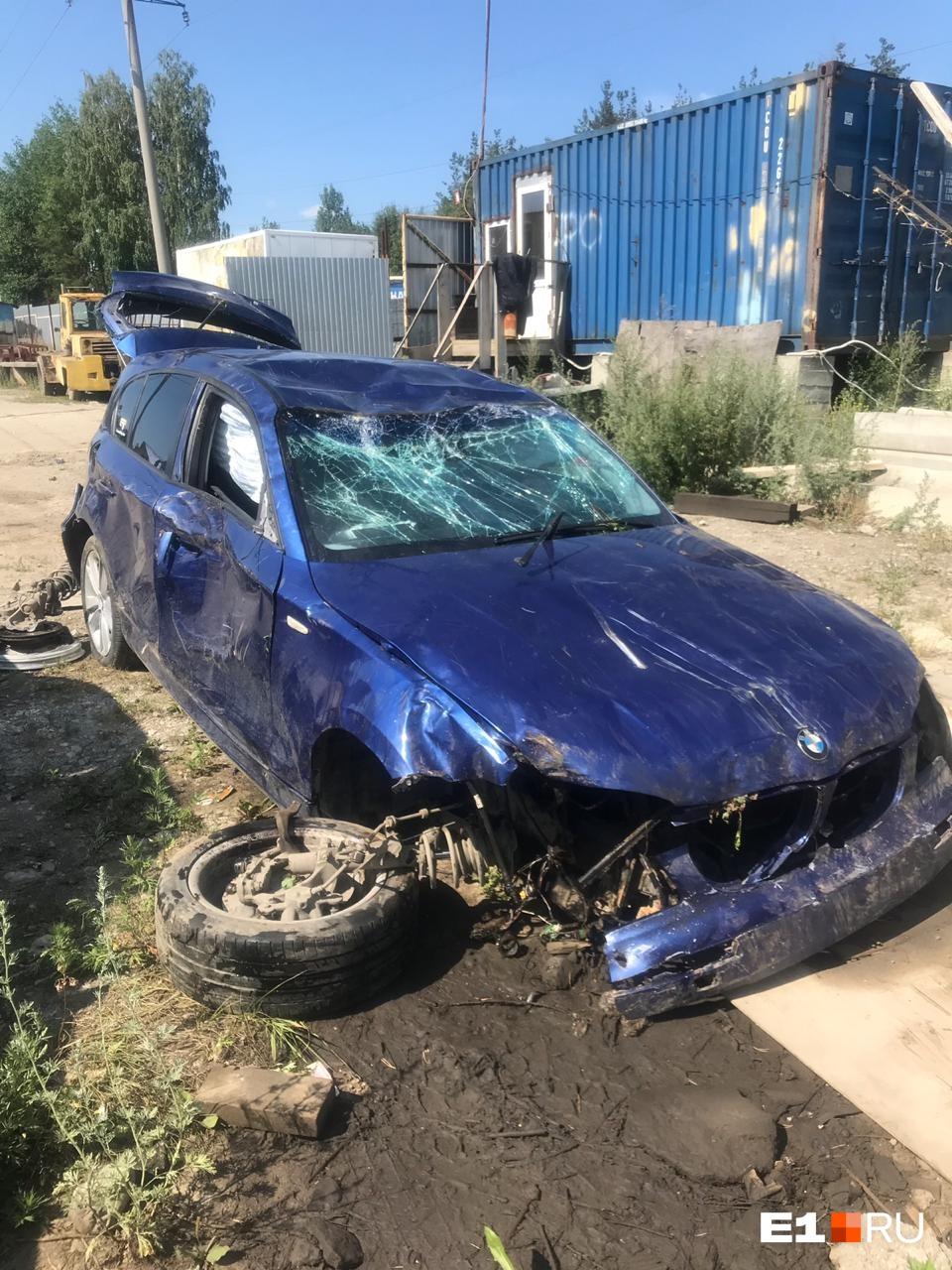 От BMW осталось только железо