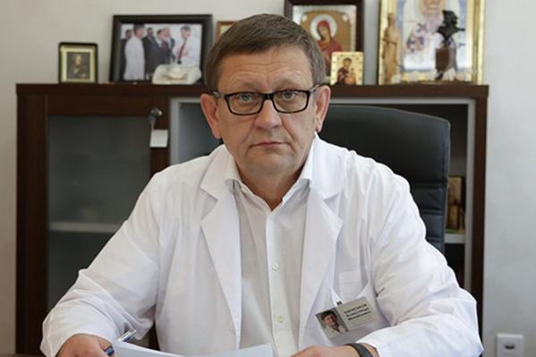 Александр Караськов проработал в клинике больше 30 лет