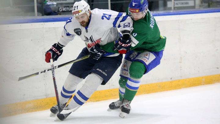 «Проиграли по всем статьям»: хоккейный клуб «Зауралье» уступил «Торосу» 6:2