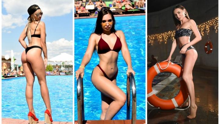Как горячие красотки с пышными формами отдыхали на пляжах Урала: 15 лучших снимков E1.RU