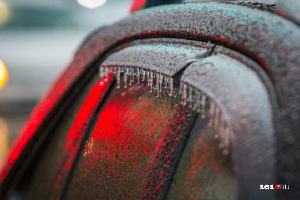В некоторых районах заморозки продолжаются с 18 апреля