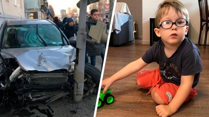 Заново родился: как идет на поправку маленький Ваня, сбитый «бешеной» Honda на улице Фурманова