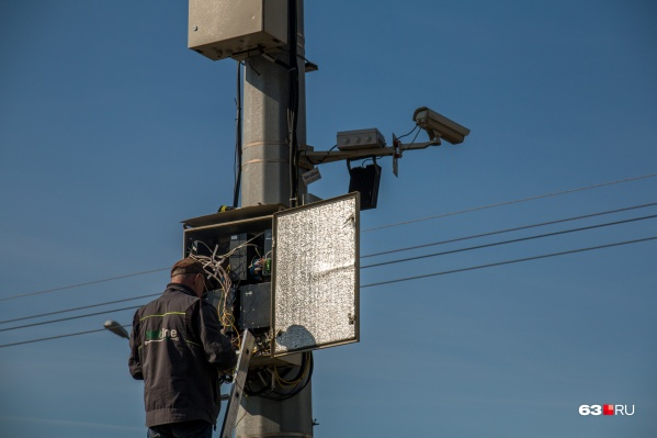 Информация с камер поступает в региональную ГИБДД