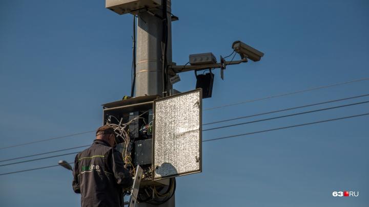 На дорогах Самарской области установят 219 камер видеонаблюдения