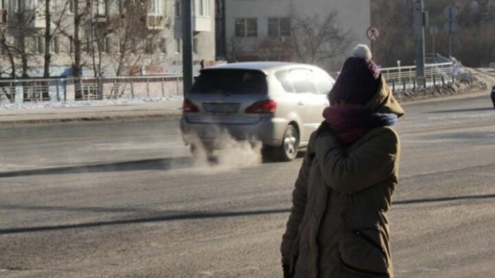 Морозы продержатся в Омске и области ещё три дня