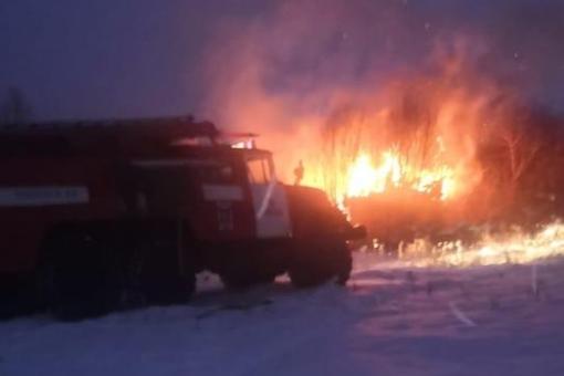 В Башкирии при пожаре сгорела заживо женщина, другого пострадавшего с ожогами отправили в больницу