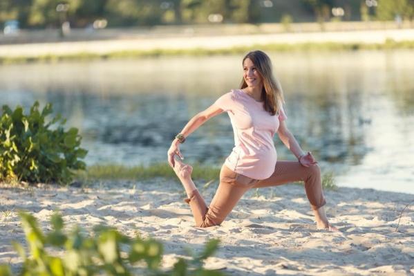 Ольга — инструктор по йоге
