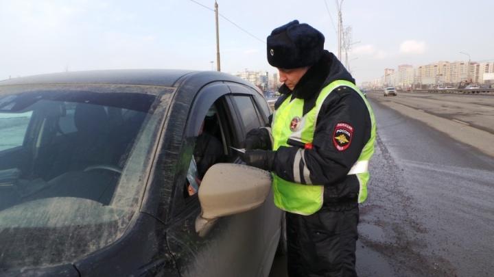 Водитель решил сэкономить и угнал своё авто со штрафстоянки