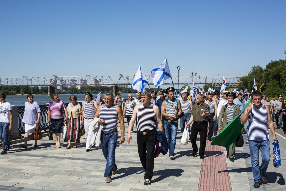 Праздник проходит на Михайловской набережной