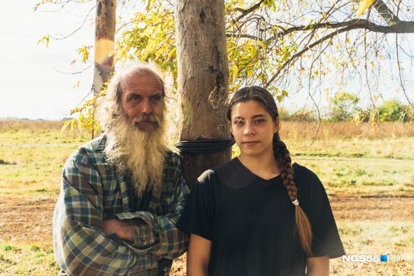 Рада и Геннадий Кноль десять лет назад переехали в деревню