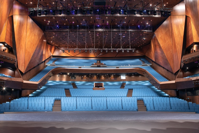Гранд-партер, VIP-партер, партер, бельэтаж и балкон в новом конгресс-центре
