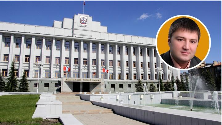 Новое министерство в омском правительстве возглавил несостоявшийся мэр Новочеркасска