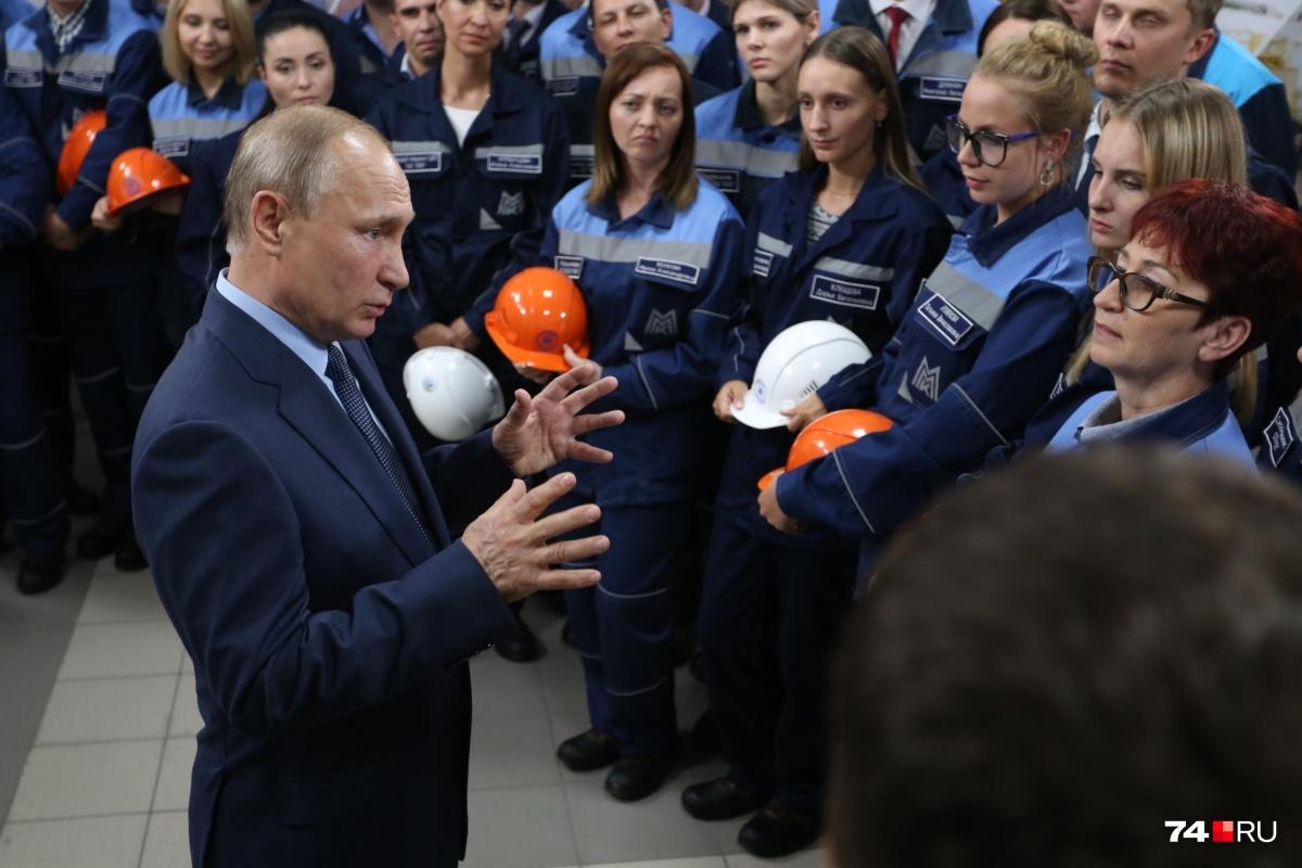 Как всегда во время таких визитов Путин попытался охватить максимальное количество тем за короткое время