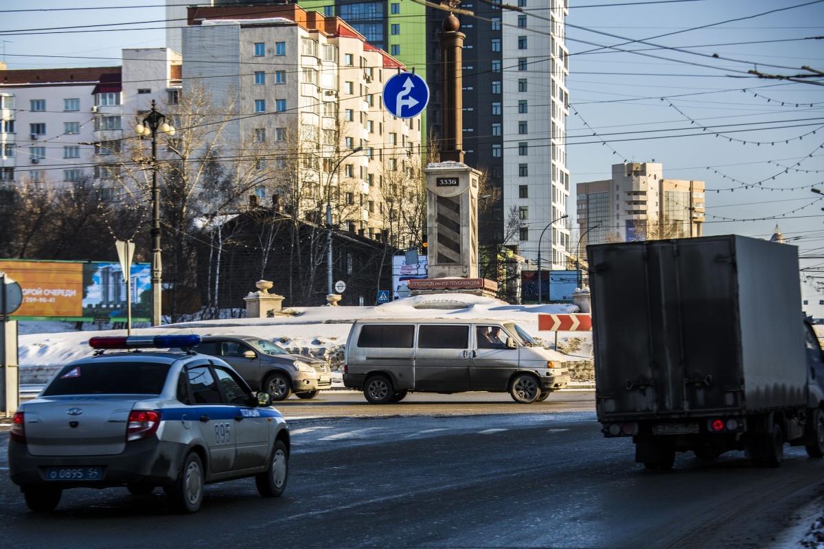 Новые дорожные знаки уже появились на площади Трубникова