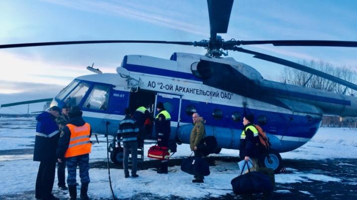 У Соловецких островов спасли двух дрейфующих по морю карелов
