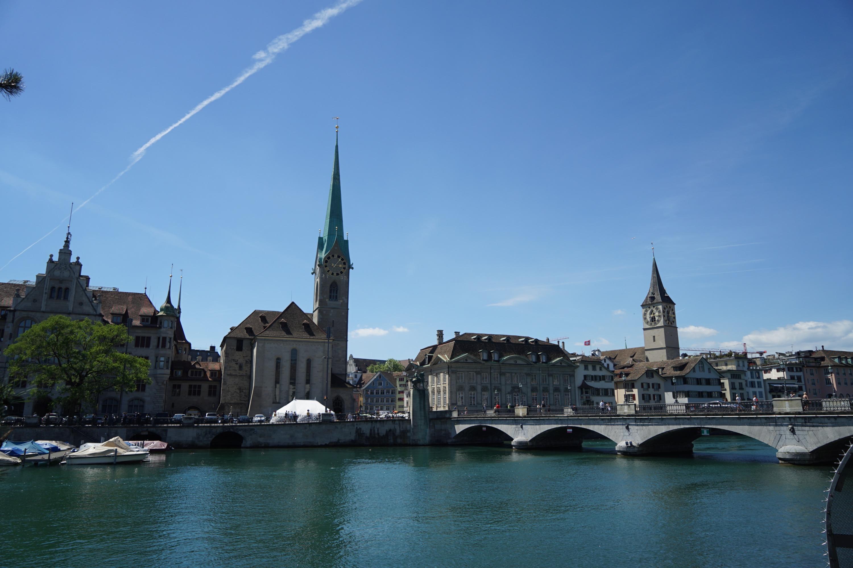 Самый центр Цюриха