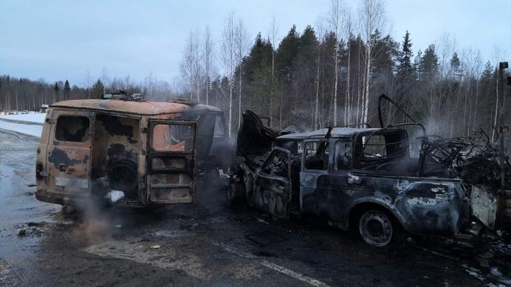Инкассаторский УАЗ на встречке столкнулся с «Нивой» в Виноградовском районе. Один человек погиб