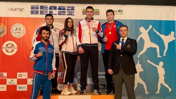 Екатеринбуржец стал чемпионом Европы по тайскому боксу
