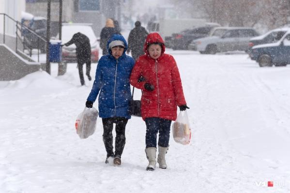 Днём в Волгограде синоптики обещают -3 °С