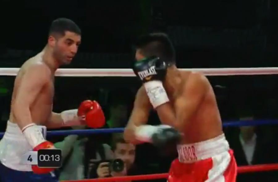 Михаил Алоян одержал победу над боксером изНикарагуа