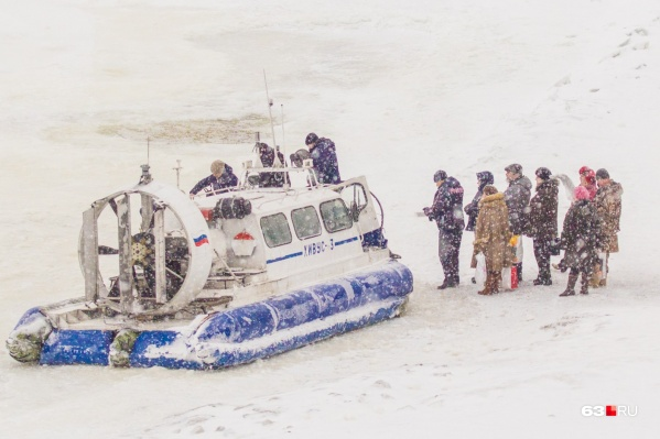 Сейчас за перевозки по Волге зимой и летом отвечает «Самарское речное пассажирское предприятие»