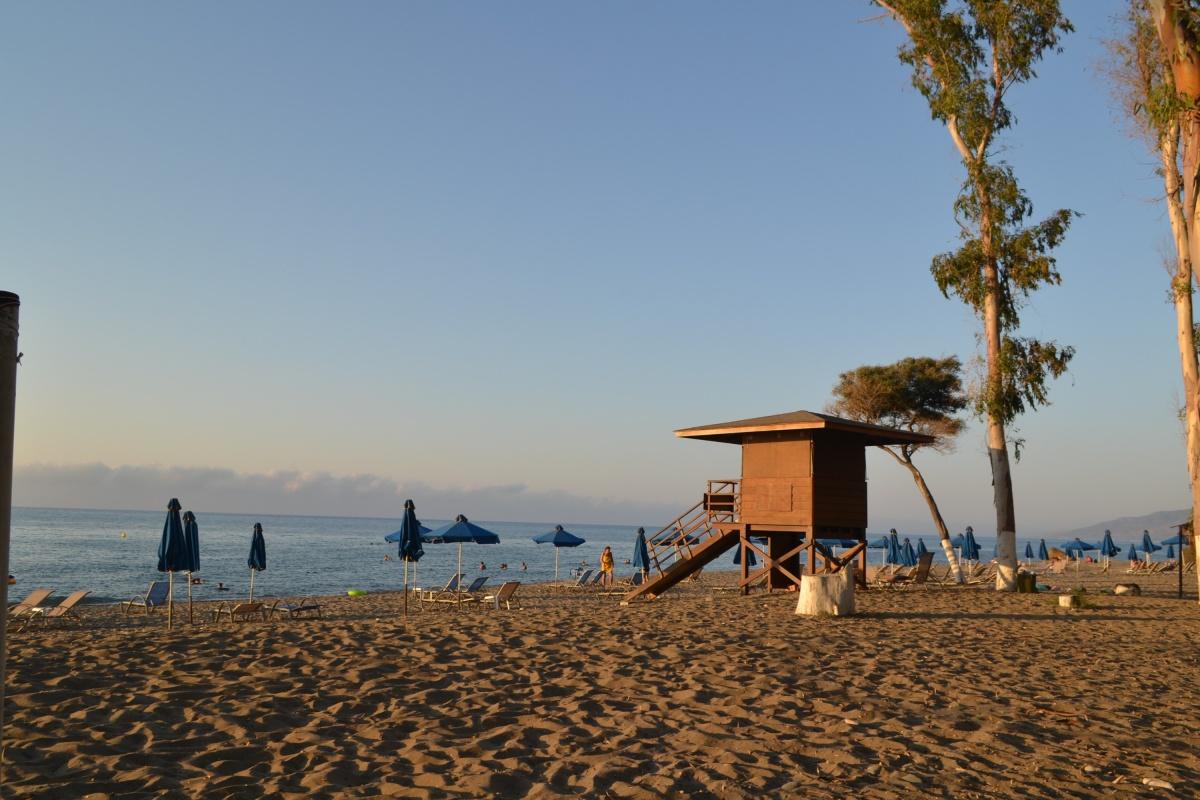 Алеся с мужем поселились недалеко от пляжа, чтобы легче было переносить жару