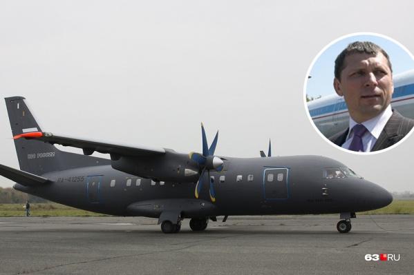 Следствие считает, что Алексей Гусев сорвал поставку пяти самолетов Ан-140 для МО РФ