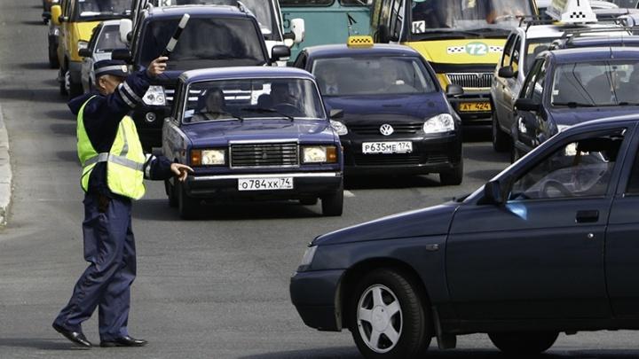 В Зауралье 40 водителей сели за руль в состоянии алкогольного опьянения