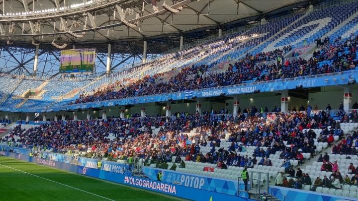 С разрывом в десять тысяч: волгоградские болельщики «Ротора» оторвались от фанатов из других городов