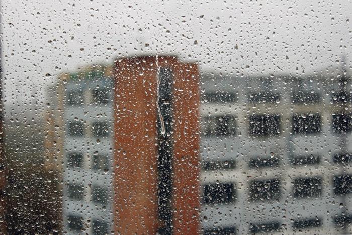 Дожди прекратятся только днём в понедельник
