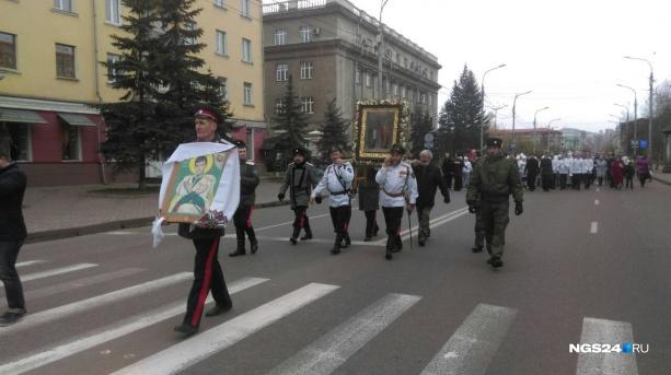 Центральные улицы перекрывают для проведения крестного хода