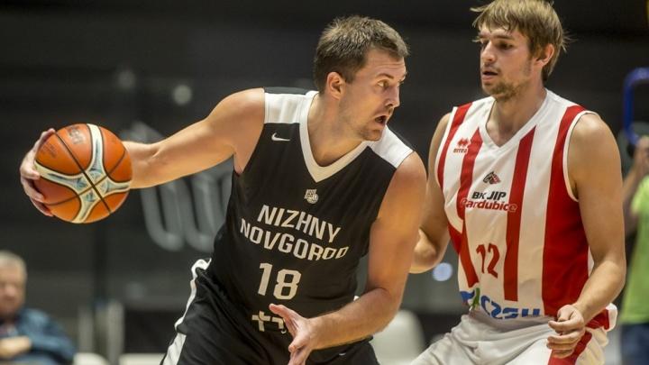 БК «Нижний Новгород» выиграл в Чехии матч и путевку в Лигу чемпионов