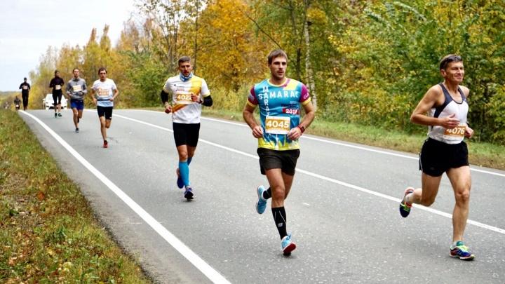 42 километра вдоль Волги: смотрим, как прошёл марафон «Самарская Лука»