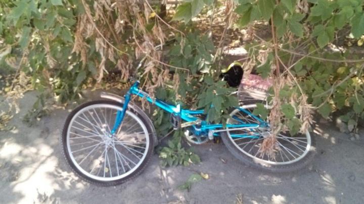 В Кургане сбили 73-летнего велосипедиста
