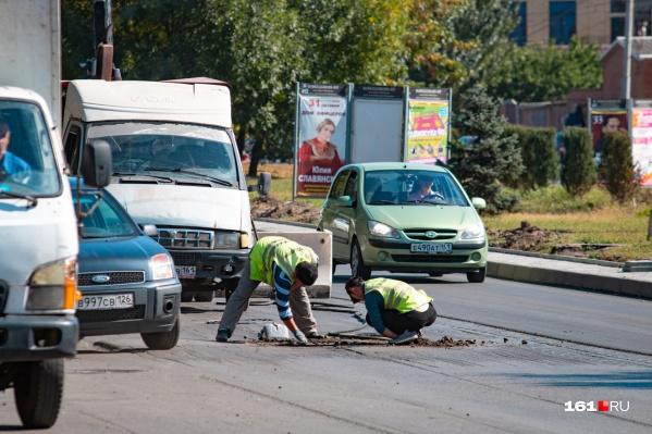 Вскоре в Ростове начнут ремонтировать дороги